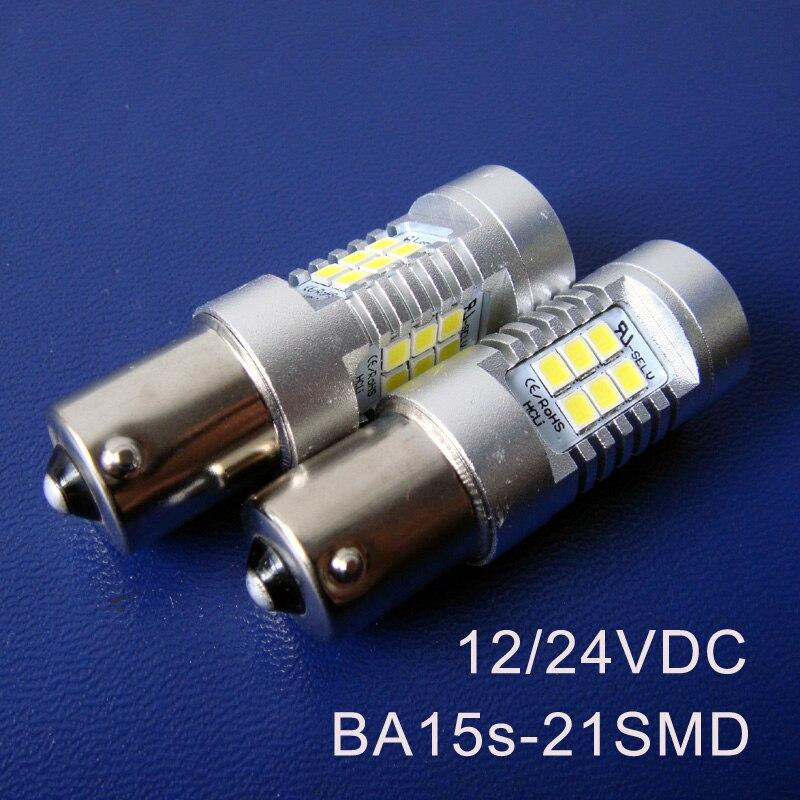 High quality 10W 24V 10 30VDC BA15s 1156 PY21W P21W Truck led lamps BAU15s 1141 Led