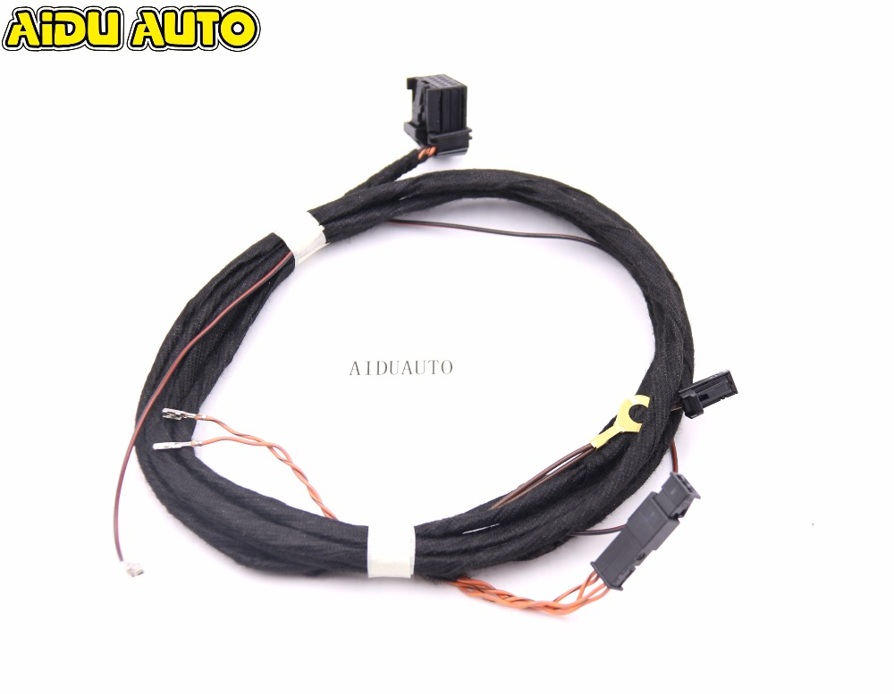 Lane assist Lane keeping system Wire/cable/Harness For VW Golf 7 MK7 Passat B8 MQB CARS цена