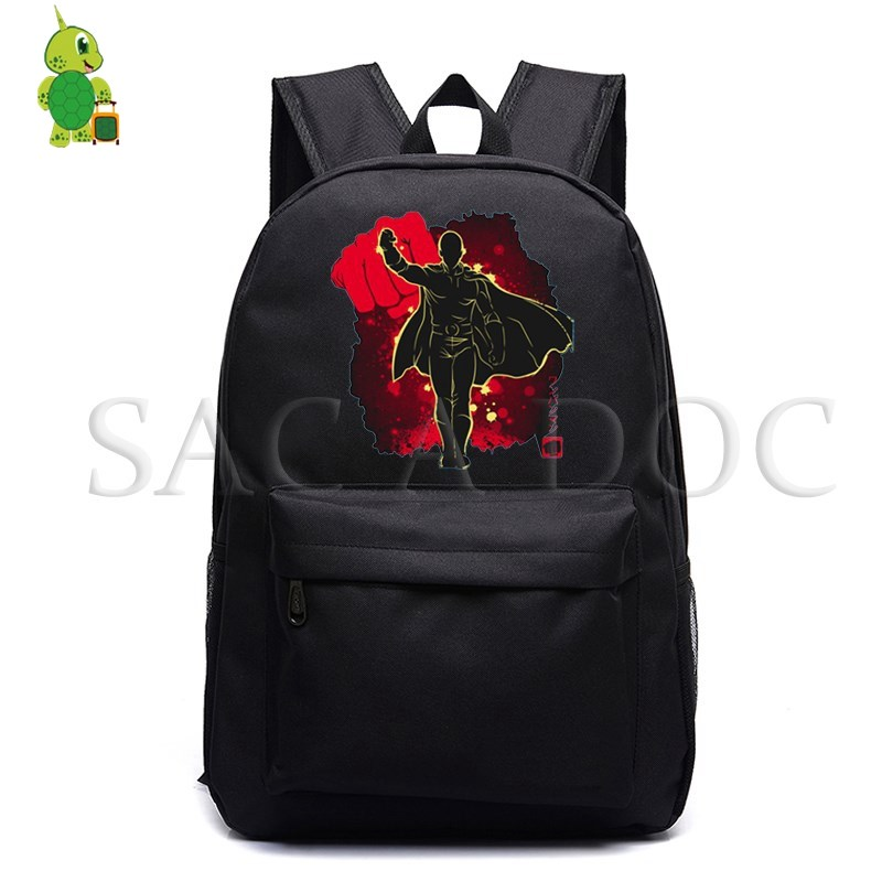 One Punch Man Saitama Fluorescence Backpack for Teenage Girls Boys School Bags Travel Rucksack Women Men Laptop BackpackOne Punch Man Saitama Fluorescence Backpack for Teenage Girls Boys School Bags Travel Rucksack Women Men Laptop Backpack