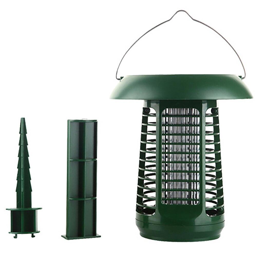 Anti-moustique éclairage double usage solaire moustique Zapper étanche LED à alimentation solaire lumière ravageur insecte tueur outils de plein air