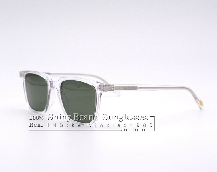 vintage eyewear Square frame NDG 1 P polarized sunglasses men and women sunglasses designer brand original