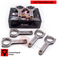 H Beam Connecting Rods For Nissan Patrol Safari Civilian 4 2L TD42 Y60 Y61 W40 Early