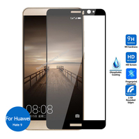 For Huawei Mate 9 Tempered Glass Screen Protector Full Cover 9h All Coverage Safety Glass On Mate9 MHA-L09 MHA-L29 Mha L09 L29