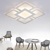 Потолочный светильник ультра тонкий квадратный/прямоугольник потолка плоский свет SMD СВЕТОДИОДНЫЙ Панель свет поверхностного монтажа зат