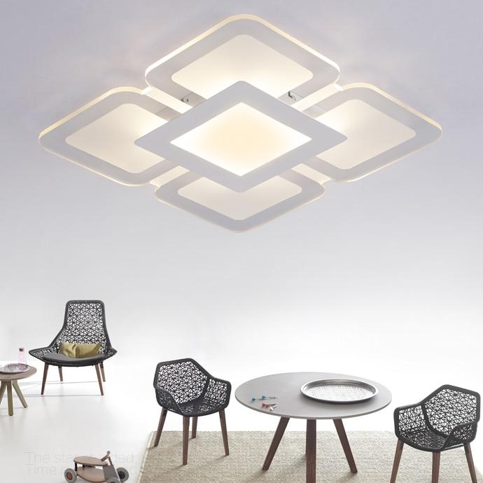 Turbo Acryl decke Lampe ultra dünne Quadrat/Rechteck decke Flache licht WQ76