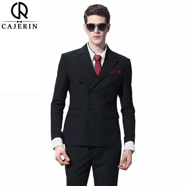 Cajerin Polyester Men Clothing England Style Suit Tailor Blazer ...