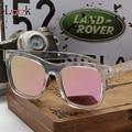 De alta Calidad gafas de Sol Polarizadas Las Mujeres Diseñador de la Marca de Verano Estilo Espejo de La Vendimia Gafas de Moda Retro Gafas de Sol Para Los Hombres