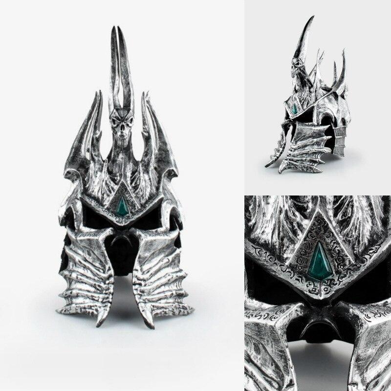 все цены на Game Surroundings World of DC Death Knight Lich King Alsace Helmet Hand-held model pendulum