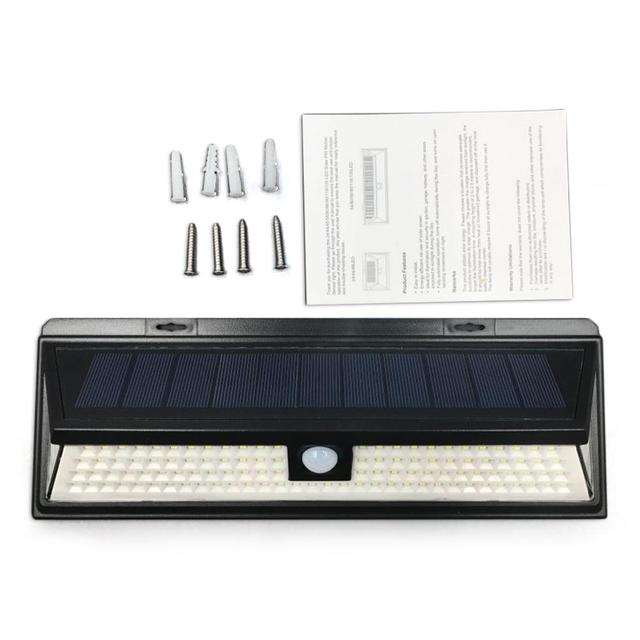 Solar Powered LED Light with Motion Sensor