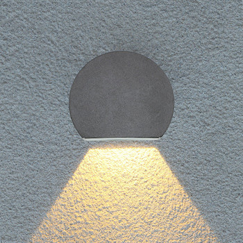 LED Exterior Impermeable Pasarela Puerta Frontal Jardín Porche Pared Luz Moderna Iluminación De Pared Para Pasillo Interior ML58