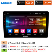 LEEWA 9 Android 8.1 8 Core/DDR3 2G/32G/Support 4G LTE Car Media Player With GPS/FM For Hyundai Azera 2006 2010 (1din)