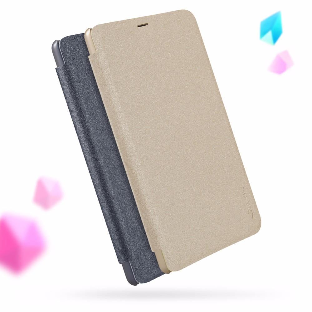 xiaomi MI 8 SE Flip Case NILLKIN Sparkle Flip Leather Cover Cases For xiaomi MI8 SE Luxury Brand Case with Sleep Function