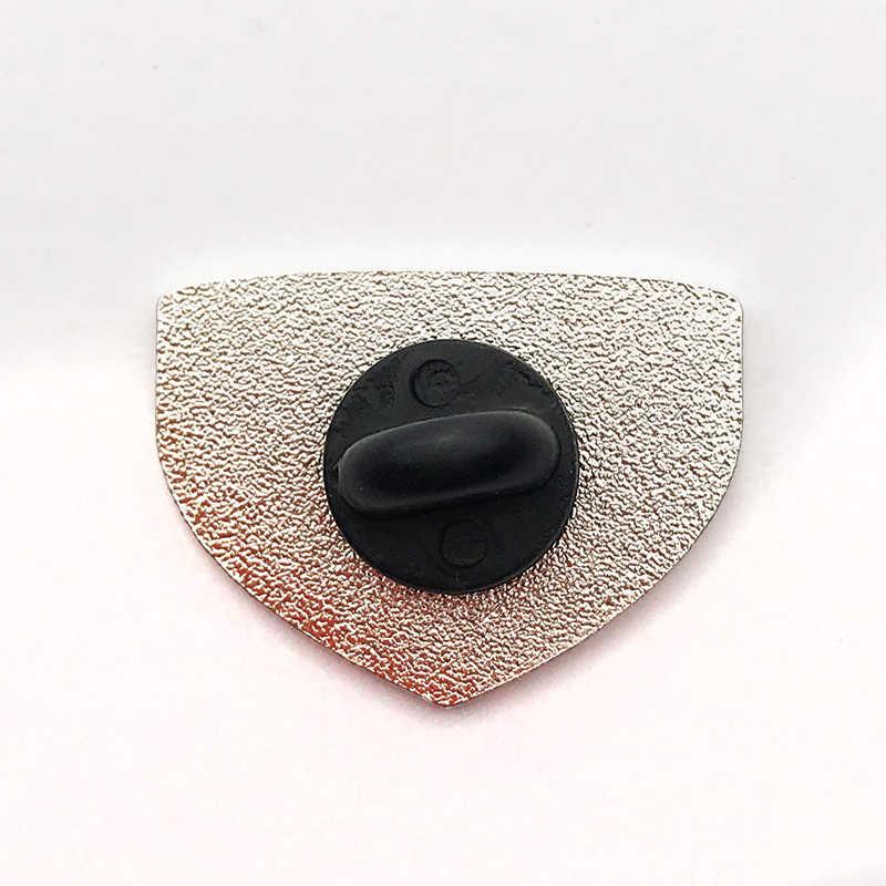 Avontuur Wacht Bergen Crest Emaille Pin Broches Badge