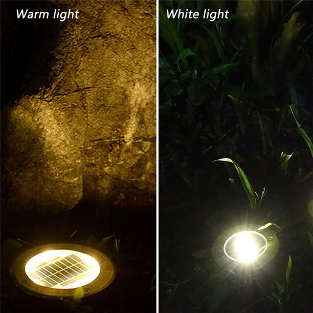 Waterproof LED Solar Underground Lights 4Pcs | online brands