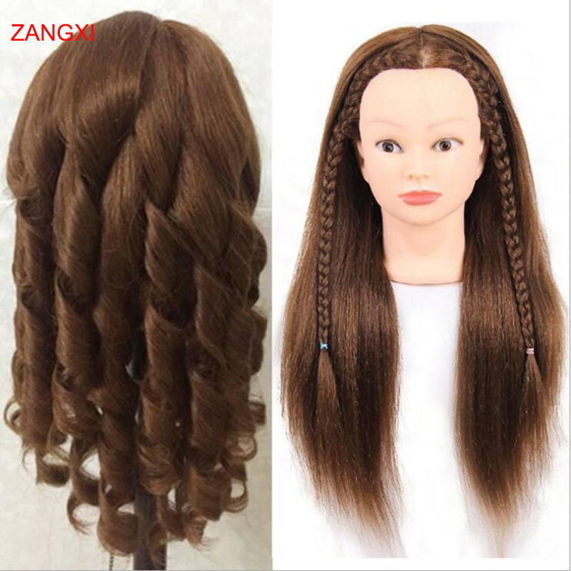 18inch Natural 100% Real Hair Mannequins For Sale Dummy Professional Manikin Head For Salon Female Hairdresser Maniquin Head