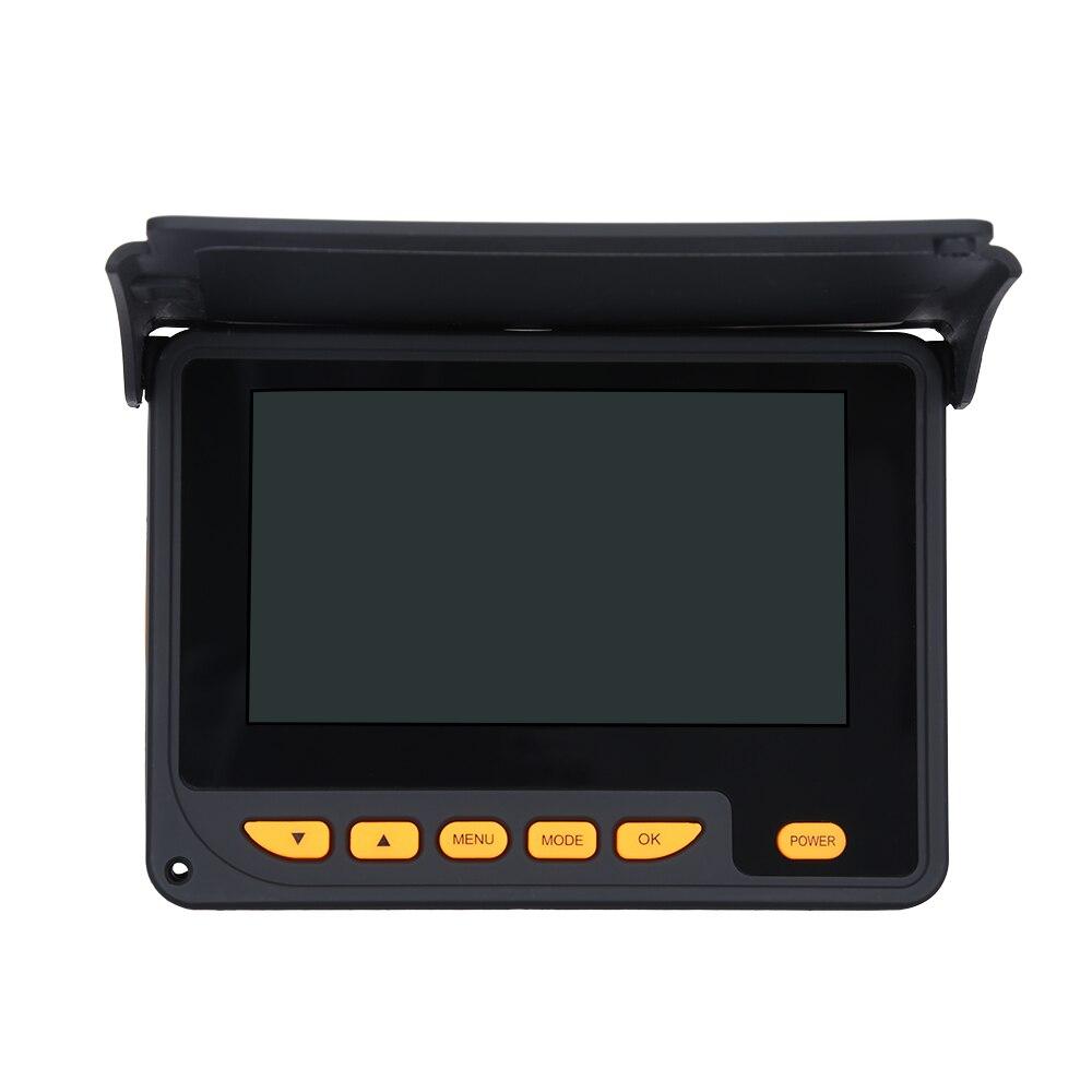 """Eyoyo подводная камера для подледной рыбалки 20 м дальность обнаружения HD 1000TVL видео рыболокатор 4,"""" lcd 8 шт. ИК светодиодная видеокамера для рыбалки"""