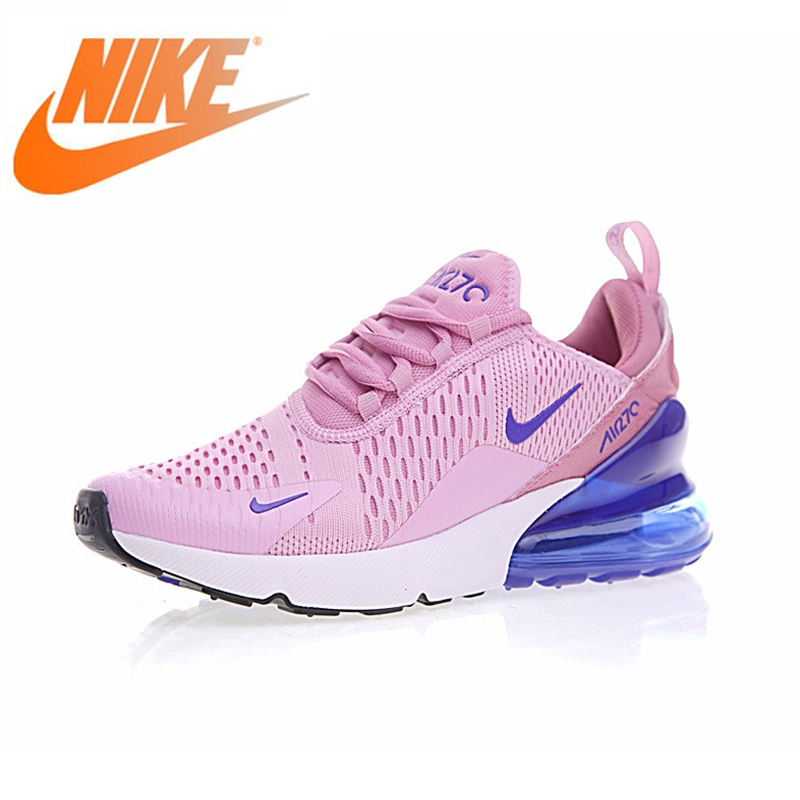 Official Authentic Nike Air Max 270 Womens Breathable Running Shoes Sports Shoes Quality Outdoor Sports Shoes 2019 New AH8050Official Authentic Nike Air Max 270 Womens Breathable Running Shoes Sports Shoes Quality Outdoor Sports Shoes 2019 New AH8050