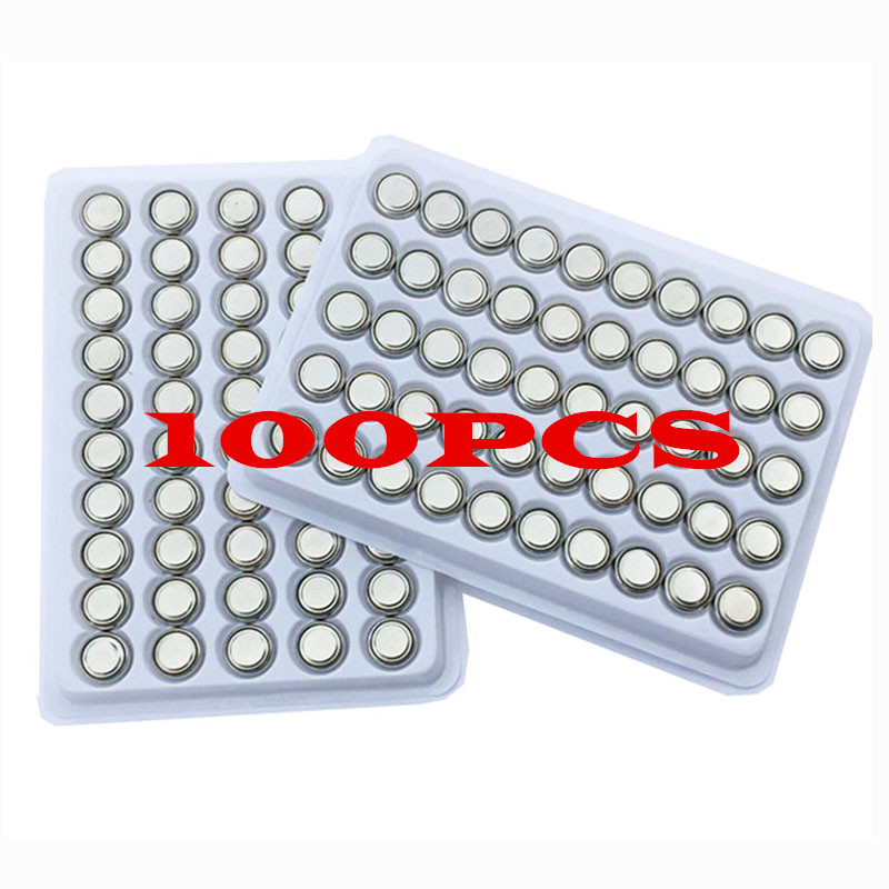 Free shipping 100PCS <font><b>AG10</b></font> LR1130 1130 SR1130 389A LR54 L1131 389A <font><b>1.5V</b></font> Button <font><b>Battery</b></font> <font><b>battery</b></font> MP3 Players,Toys, Blood Glucose image