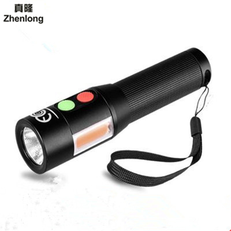 Multi-function Anti-body Auto-alarm Bright Flashlight Aluminum Waterproof CREE LED Flashlight Torch Light for 18650 portable ultra bright waterproof aluminum alloy mini led flashlight
