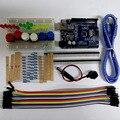 Botón de Cable de Puente LED Kit de Inicio UNO R3 MINI Breadboard para Arduino Envío Gratis