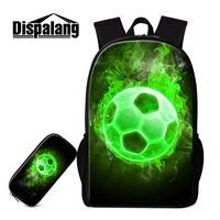 Dispalang Design Your Own Backpack Print Balls Patterns On Daily Bags For Work Artistic Book Bag