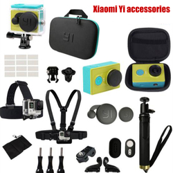 For Xiaomi Yi action camera accessories Waterproof housing Case Bag Bluetooth Selfies Monopod Bluetooth Camera Remote Control