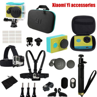 For Xiaomi Yi Action Camera Accessories Waterproof Housing Case Bag Bluetooth Selfies Monopod Bluetooth Camera Remote