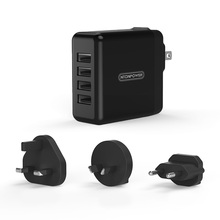 NTONPOWER DSP Plug in 4 Ports USB Charger for Smartphone