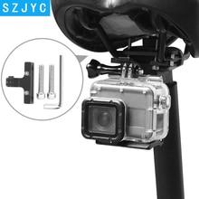 купить JYC Bike Cushion Clip Holder Mount for GoPro Hero 7 6 5 4 Xiaomi Yi 4K Sjcam Sj4000 M20 Eken H9 Go Pro Hero 7 6 5 Accessory дешево
