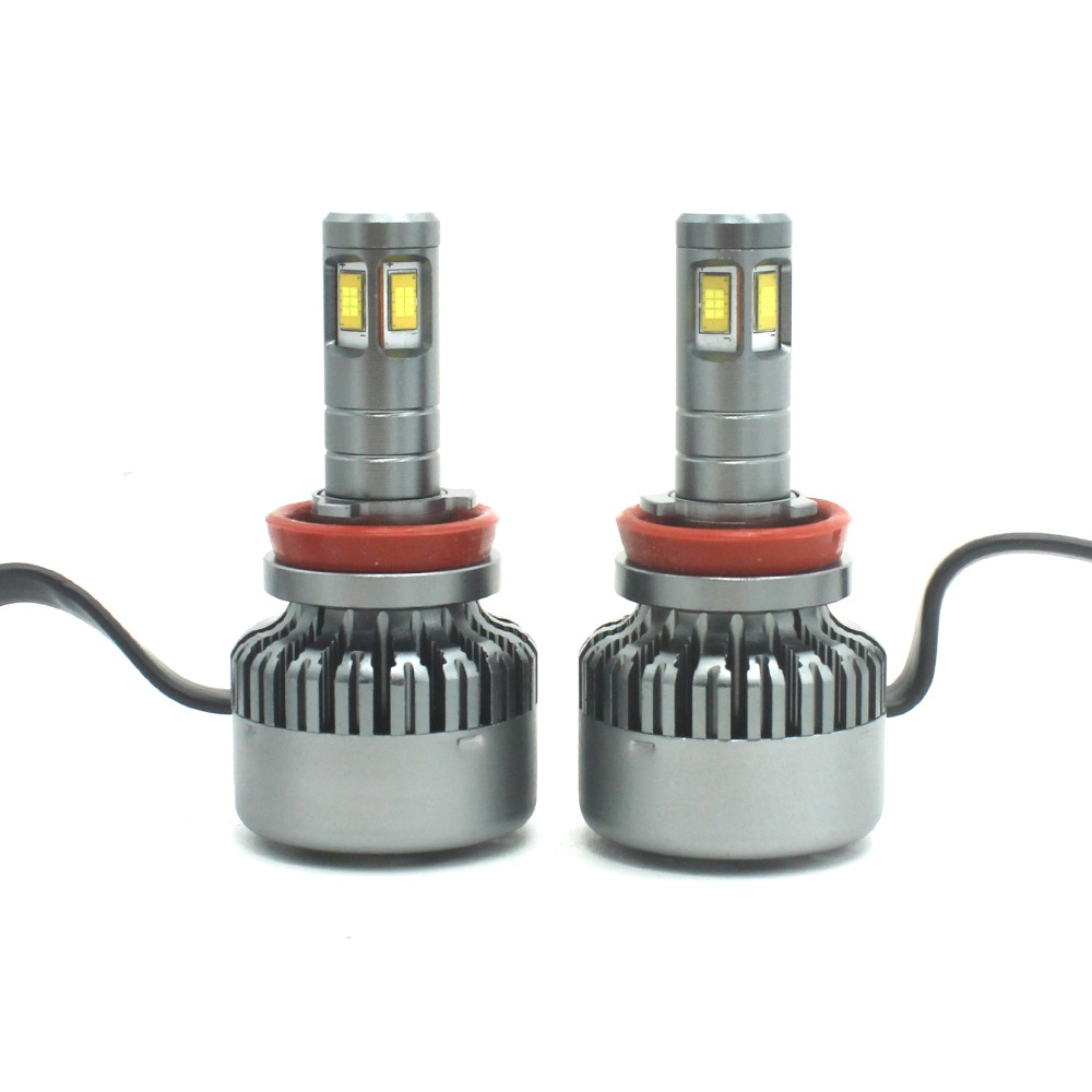 Modifygt V10 H7 <font><b>led</b></font> H4 <font><b>led</b></font> H8/H9/H11 <font><b>H15</b></font> 8000LM 100W 12V Car <font><b>led</b></font> light Headlight canbus <font><b>no</b></font> <font><b>error</b></font> car accessories image