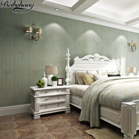 beibehang High quality new wallpaper American country non woven wallpaper living room bedroom background wall wallpaper