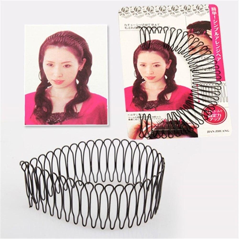 Невидимые Инструменты для укладки волос, женские головные уборы, изогнутые шпильки для волос, заколки для волос, аксессуары для волос women headwear hair comb cliphair styling tools   АлиЭкспресс