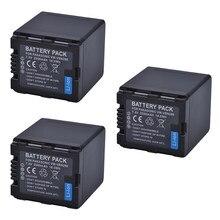 3 Pc 2500 mAh baterii VW-VBN26 VBN260 bateria do baterii Panasonic VW-VBN26 HC-X800, HC-X900, Panasonic VW-VBN390 VBN130 HC-X910 HC-X920