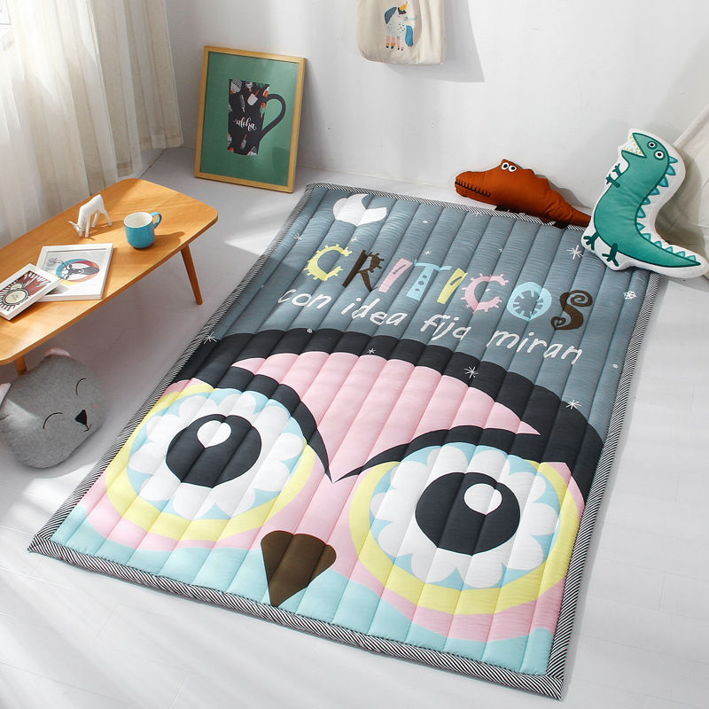 Cartoon Animals Kids Carpet Rugs Children Baby Play Mat Thicken Child Protection Pad Floor Crawling Mat Carpet Kids Room Decor цены