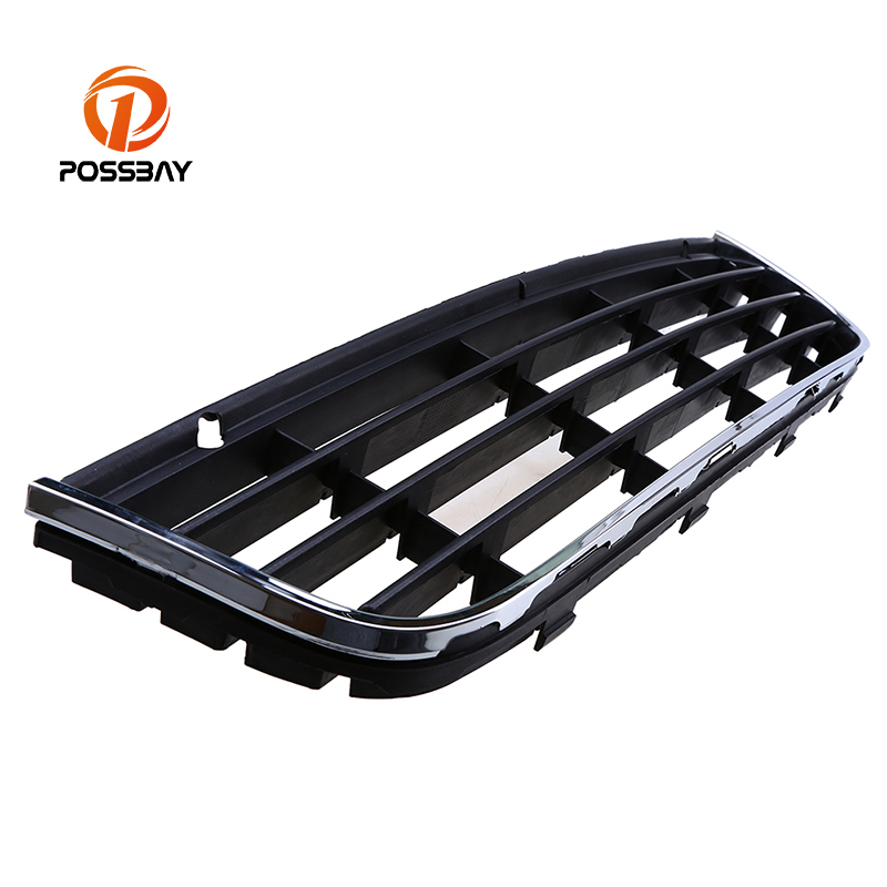 POSSBAY Durable Front Center Bumper Lower Grille Grills