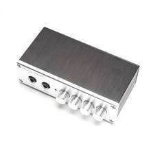 KYYSLB Home Audio op amp NE5532 Preamplifier OF1 TP2399 HD Digital amplifier Karaoke Board Pre level  with Microphone input