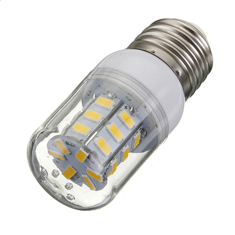 E27 LED Light Bulb DC12V 27LEDs 5730 SMD Super Bright Energy Saving Lamp Corn Lights Spotlight Bulb White Warm White Lighting e27 led 4 5w 36 smd 5730 warm white white cover corn light lamp led bulb ac 220v