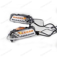 1 Pair Auto Parts Fog Lamp Car Accessories Daylight Led DRL Daytime Running Lights For V