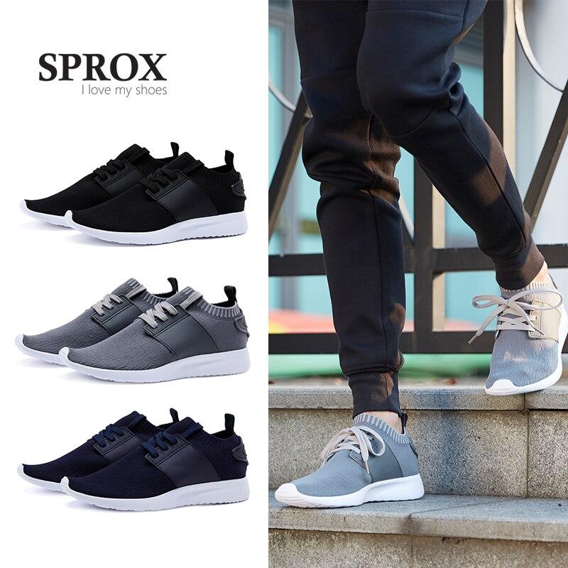 SPROX 2018 Neue Ankunft männer schuhe mode casual schuhe männer atmungsaktive hard-tragen männer schuhe licht komfortable freizeit männer schuhe