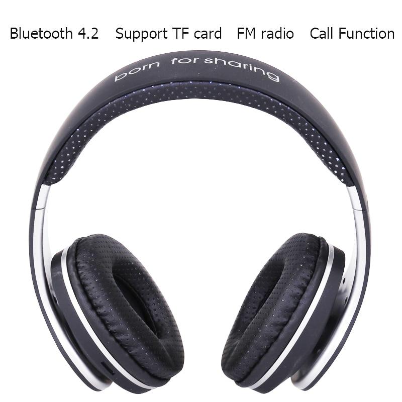 Original JKR-219B Wireless Bluetooth Headphones Stereo Music Headset with Mic TF FM Radio Headphone Earphone for Smart PC kz headset storage box suitable for original headphones as gift to the customer
