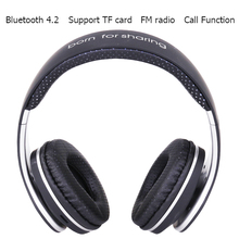 Original JKR-219B Wireless Bluetooth Headphones Stereo Music Headset with Mic TF FM Radio Headphone Earphone for Smart PC