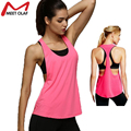 Women'S Sleeveless Tank Tops Fitness Cami No Sleeve T-Shirt Vest Summer Sexy Dry Fast Loose vest YL185