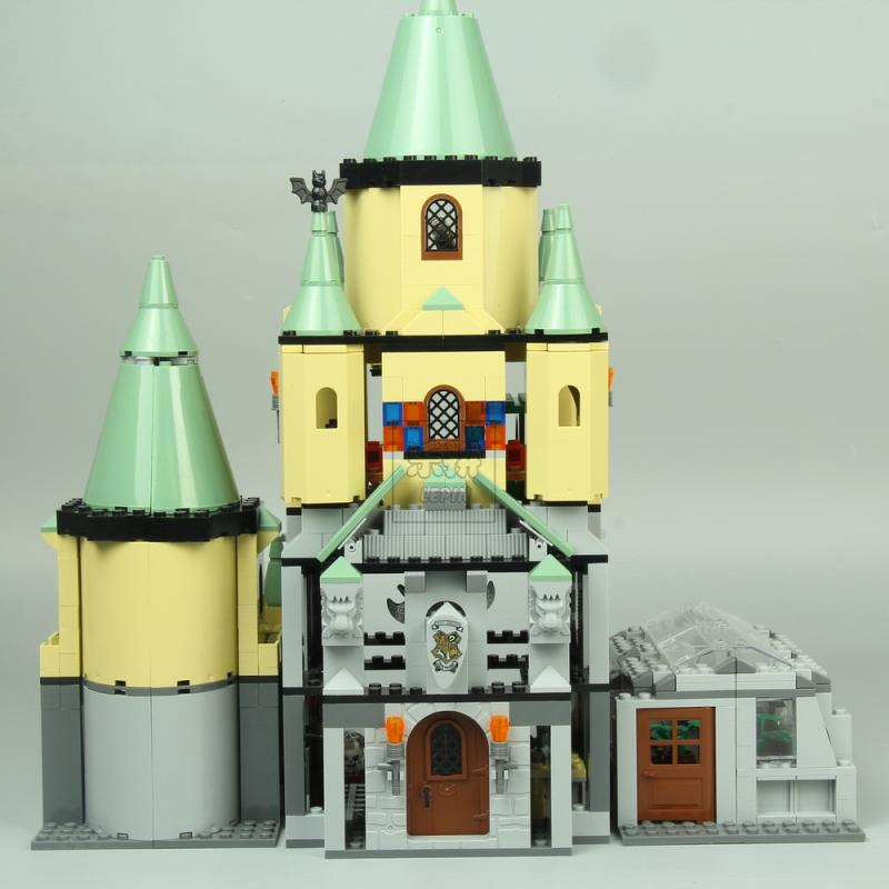 Lepin 16029 Hogwarts Castle building bricks blocks Toys for children boys Game Model Car Gift Compatible with Bela Decool 5378 bela 10443 city arctic icebreaker building bricks blocks toys for children game team castle compatible with decool lepin 0062
