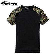 Hombre Casual Army Tactical Combat Camuflaje T-shirt de Algodón para Hombres T camisa Militar de Camo Para Hombre T Shirts Moda 2016 Tops y Tees