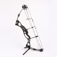 Junxing M106 Hunting Compound Bow With 50 60lbs Draw Weight Out Shooting Sport Black Magnisum Alloy Fiberglass Archery set