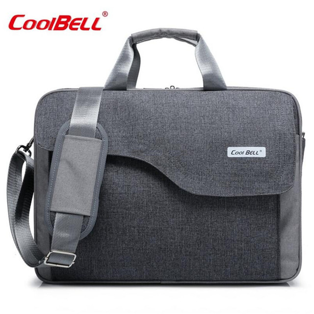 Cool Bell Fashionable Joker Handbag New Shockproof Computer Bag High Capacity Messenger For Women