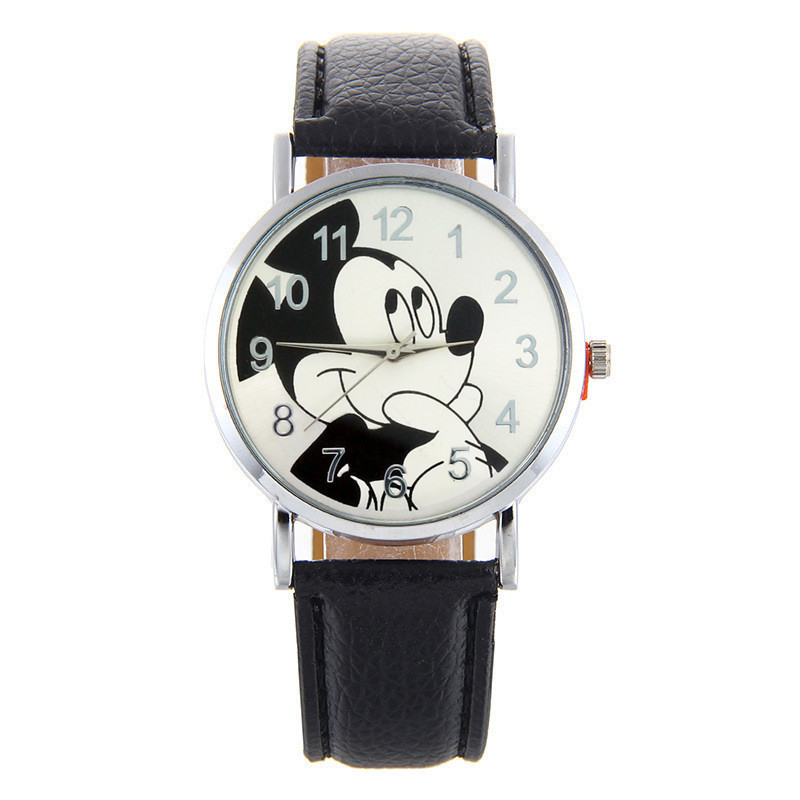 NEW Cartoon Cute Leather Quartz Watch Children Kids Girls Boys Casual Fashion Bracelet Wrist Watch Clock Relogio WristWatch