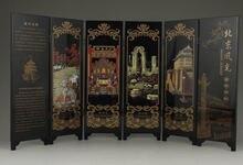 Китайская старинная фотография декор для экрана с Пекинским