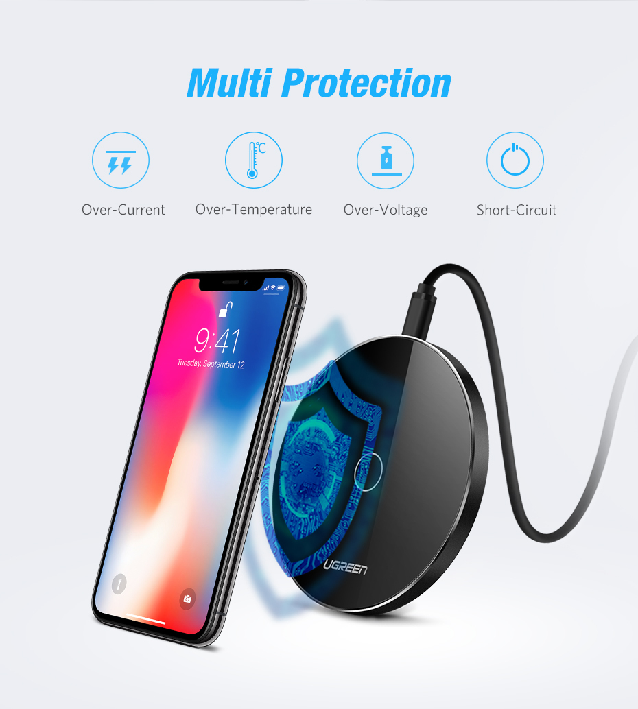 Smart Wireless Charger Pad 8