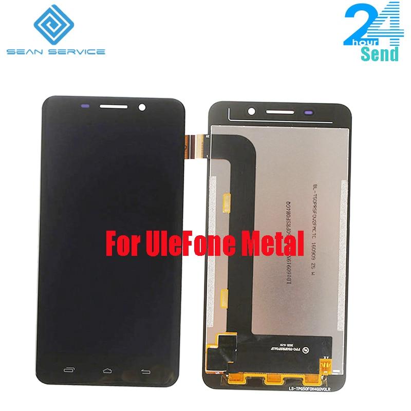 Für Original UleFone Metall LCD Display und Touch Screen Digitizer Montage Für UleFone Metall Lite 1280X720 FHD 5,0 zoll Auf Lager